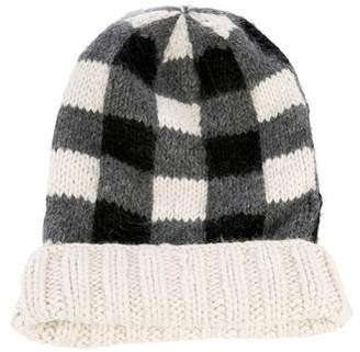 Eugenia Kim Knit Plaid Beanie