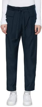 FFIXXED STUDIOS Belted twill cargo pants