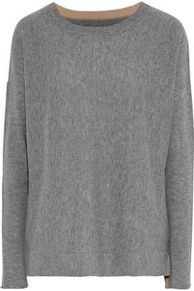 By Malene Birger Tillon Mélange Wool And Cashmere-Blend Sweater