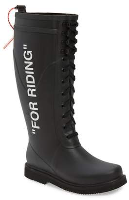 Off-White For Riding Lace Up Boot