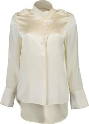 Alexis Aleski Silk Button Blouse