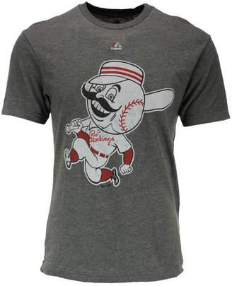 Majestic Cincinnati Reds Mlb Men's Leadoff Cooperstown T-Shirt