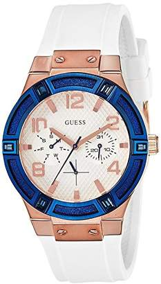 GUESS Women's Analogue Quartz Watch with Stainless Steel Strap – W0564L1