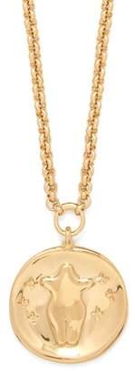 Chloé Emoji Gold Tone Pendant Necklace - Womens - Gold