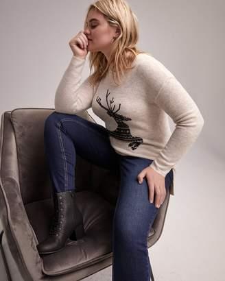 Long Sleeve Jacquard Sweater - L&L