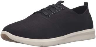 Toms Men's Del Rey Sneakers Linen 10009168 Size 10.5