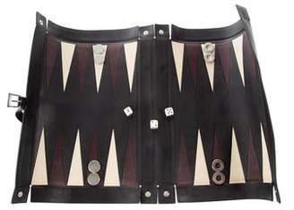 Prada Leather Backgammon Set