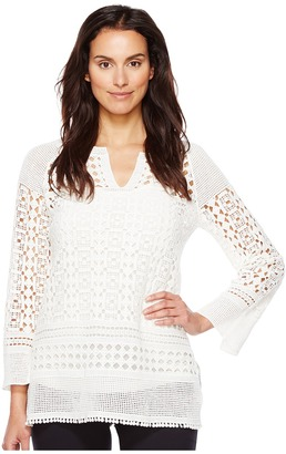 NIC+ZOE - Free Spirit Lace Tunic Women's Clothing $158 thestylecure.com
