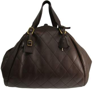 J&M Davidson J & M Davidson Brown Leather Handbags