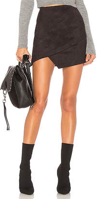 by the way. Saira Faux Suede Mini Skirt
