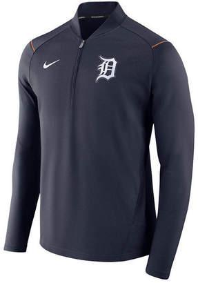 Nike Men Detroit Tigers Dry Elite Half-Zip Pullover