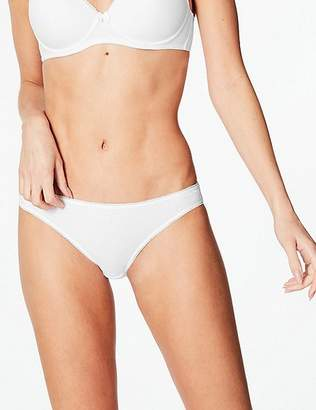 Marks and Spencer 5 Pack Cotton Rich Bikini Knickers with New & Improved Fabric