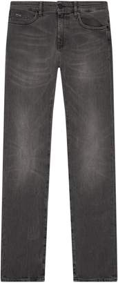 HUGO BOSS Fade Effect Slim Fit Jeans