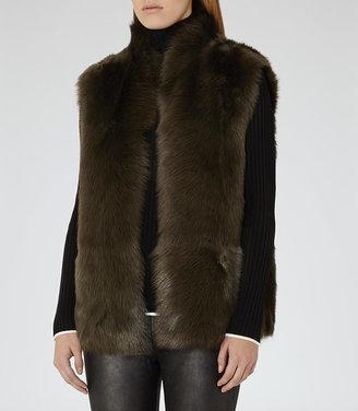 Tessa Reversible Shearling Gilet $1,120 thestylecure.com