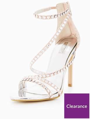 Carvela Grass Diamante Heeled Sandal