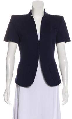 Louis Vuitton Structured Short Sleeve Blazer