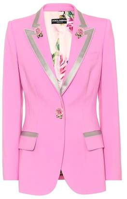 Dolce & Gabbana Turlington wool and silk blazer