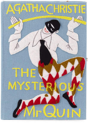 Olympia Le-Tan Olympia Le Tan The Mysterious Mr. Quin Book Clutch Bag