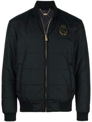 Billionaire zipped bomber jacket