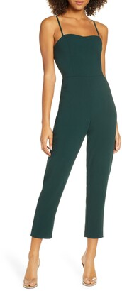French Connection Whisper Tapered Leg Jumpsuit