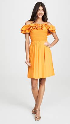 Nicholas Ruffle Bustier Dress