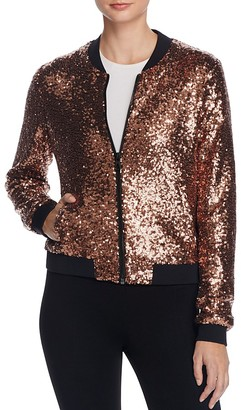 Eleven Paris Polnareff Sequin Bomber Jacket - 100% Exclusive $168 thestylecure.com