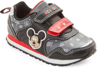 32dc10f8fd927b Mickey Mouse Clubhouse (Toddler Boys) Black   Red Character Light-Up  Sneakers