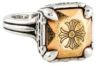 Chrome Hearts Two-Tone Cocktail Ring
