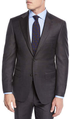 Canali Men's Plaid Two-Piece Wool Suit
