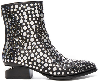 Alexander Wang Studded Leather Anouk Booties $825 thestylecure.com