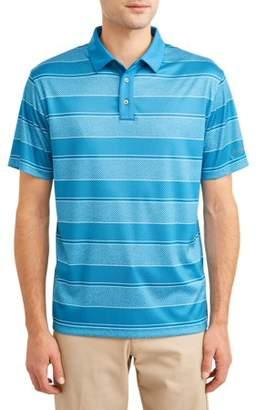 Hogan Ben Men's Performance Short Sleeve Fading Stripe Golf Polo Shirt