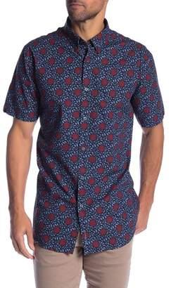 Ben Sherman Parks Floral Short Sleeve Shirt