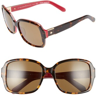 Kate Spade Annor 54mm Polarized Sunglasses