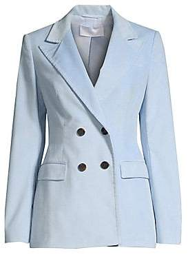 BOSS Women's Kulie Baby Corduroy Double-Breasted Blazer