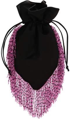 Les Petits Joueurs Fringy Silk Satin Shoulder Bag