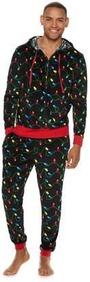 Men's Christmas 2-Piece Velour Suit