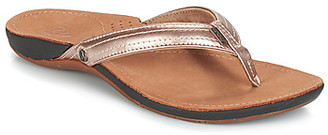 Reef MISS J BAY women's Flip flops / Sandals (Shoes) in Gold