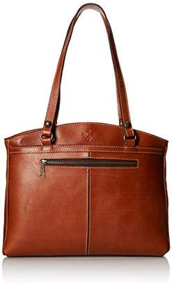 Patricia Nash Poppy Top Zip Tote Shoulder Bag