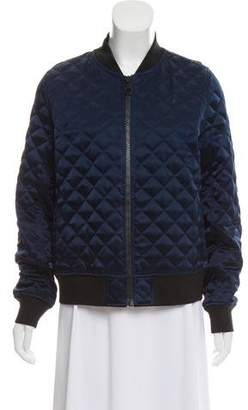 Tory Sport Quilted Bomber Jacket