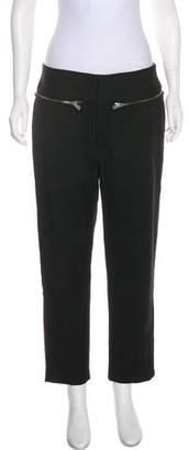 MS MIN High-Rise Straight-Leg Pants