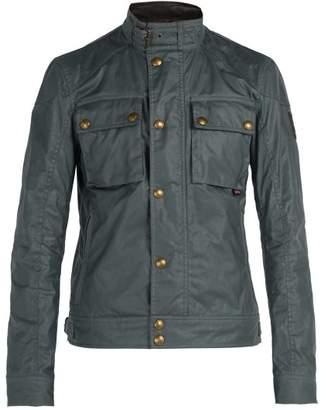 Belstaff - Racemaster Waxed Cotton Jacket - Mens - Blue