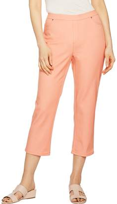 Halston H By H by Regular Studio Stretch Crop Pull-on Pants