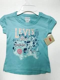 Levi's Bassket.com Girls Tshirts 4-6x Years
