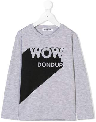 Dondup (ドンダップ) - Dondup Kids プリント ロングスリーブTシャツ