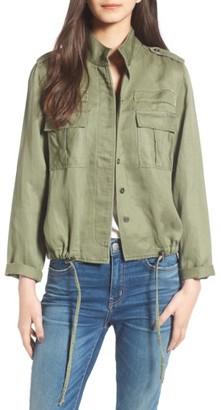Women's Rails Maverick Military Jacket $188 thestylecure.com