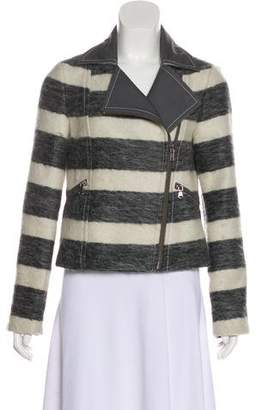Marc by Marc Jacobs Striped Zip-Up Jacket
