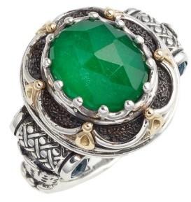 Women's Konstantino Nemesis Semiprecious Stone Ring $515 thestylecure.com