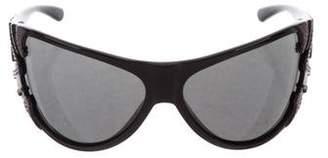 Missoni Embellished Oversize Sunglasses