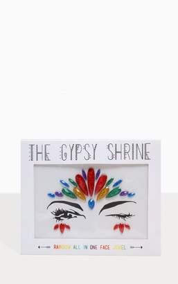 PrettyLittleThing The Gypsy Shrine Pride Rainbow All In One Face Jewel