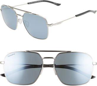 d3523d2f52b2e Smith Double Down 58mm ChromaPop(TM) Polarized Navigator Sunglasses